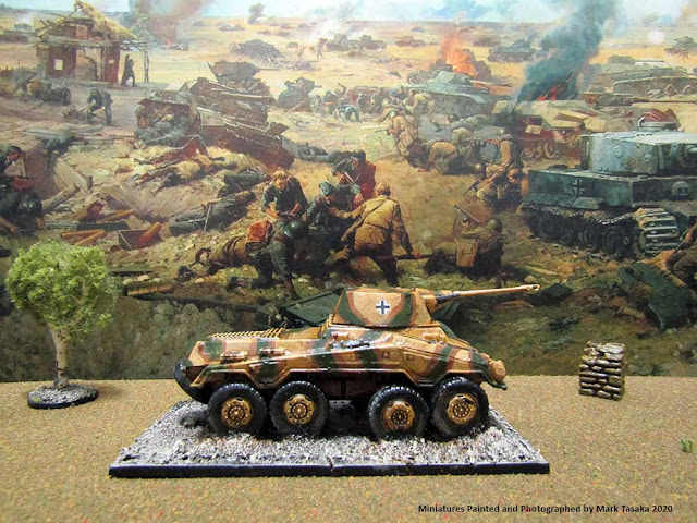 1/72 Roden 'Puma' Armour Car & Italeri Elite German Infantry
