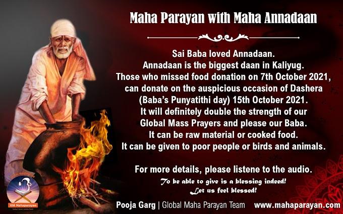 Global MahaParayan Miracles - Post 1425