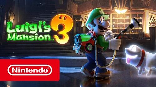 Luigi's Mansion 3 là loại game đặc quyền cho đời máy Switch