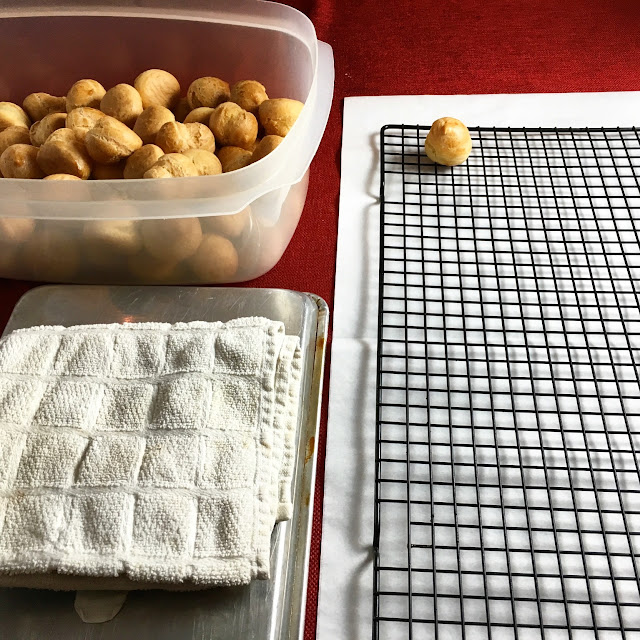 Mise en Place for Assembling Croquembouche