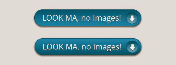 CTA button without images using CSS3