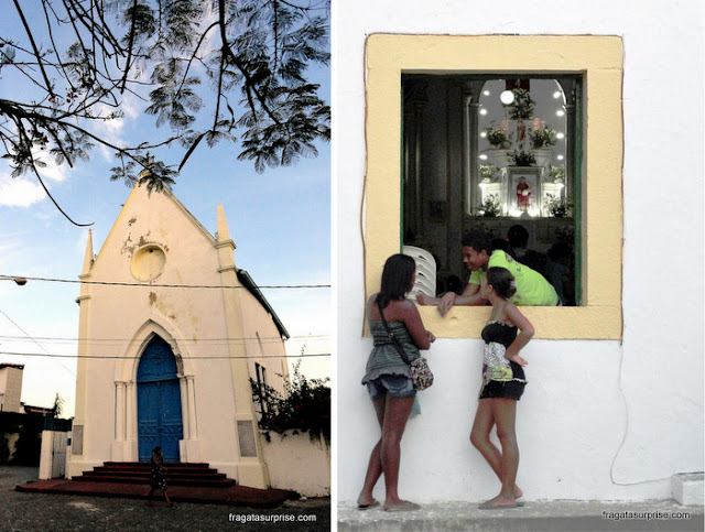 Igrejas de Itaparica: Igreja do Amparo e Igreja de São Lourenço