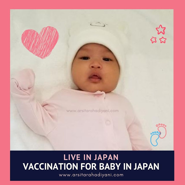Live in Japan,  Vaccination for Baby in Japan