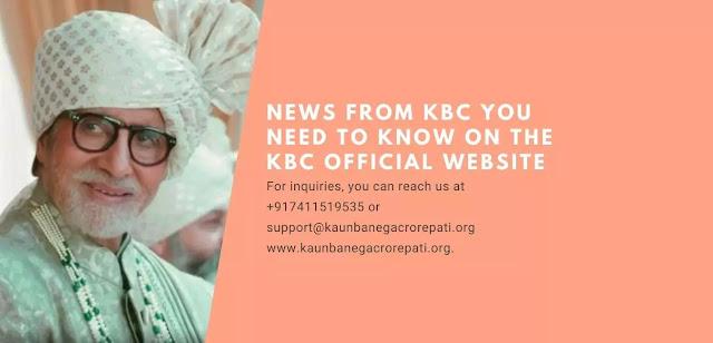 upcoming news from kbc