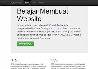 Membuat Responsive Web Desain Dengan Bootstrap 3