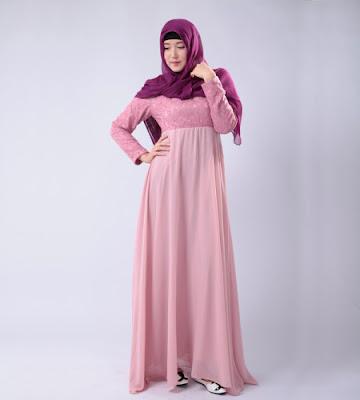Model Baju Muslim Wanita Gemuk Untuk Lebaran
