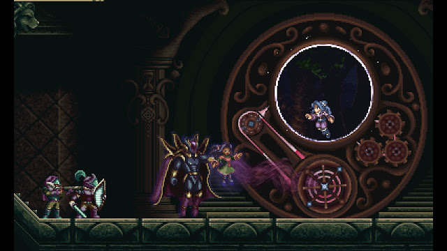 Timespinner - Introduction - Evil empire kills Lunais' mother