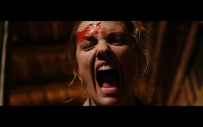 Larisa Oleynik screams bloody murder in ANIMAL AMONG US!