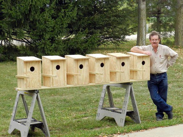 Raptor Resource Project Blog 7 Nestboxes In 2 Days