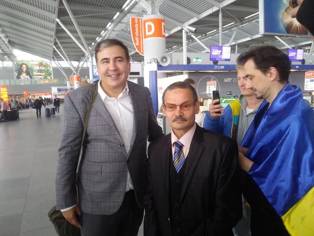 Михаил Саакашвили, Нафис Кашапов