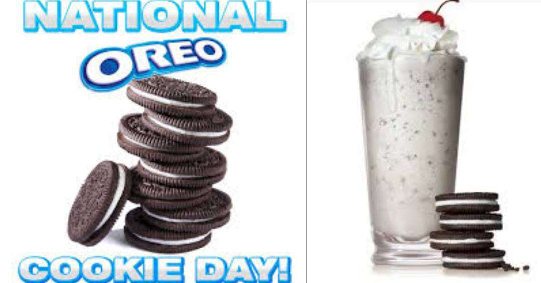National Oreo Cookie Day Wishes Awesome Picture