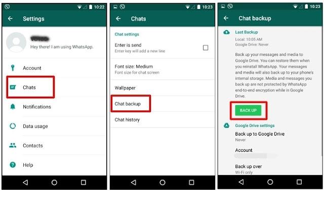एंड्रॉइड फोन पर Whatsapp Backup कैसे ठीक करें