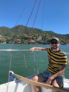 Sailing in Valle de Bravo