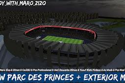 New Parc des Princes + Exterior - PES 2017