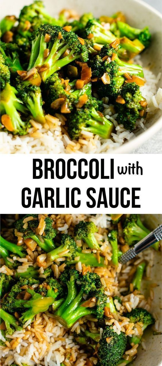 BROCCOLI WITH GARLIC SAUCE #recipes #vegetable #vegetablerecipes #food #foodporn #healthy #yummy #instafood #foodie #delicious #dinner #breakfast #dessert #lunch #vegan #cake #eatclean #homemade #diet #healthyfood #cleaneating #foodstagram