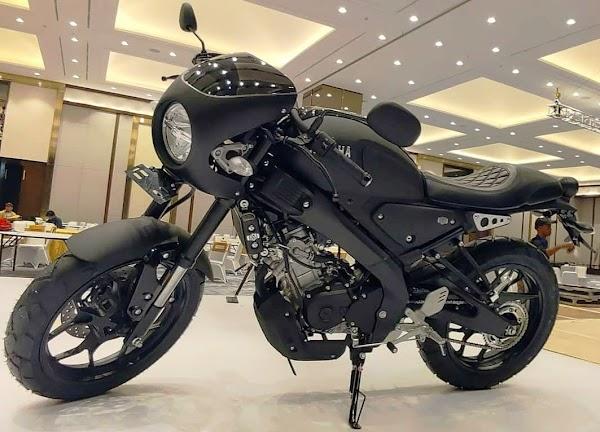 Harga Aksesoris Resmi Yamaha XSR 155 Bergaya Café Racer