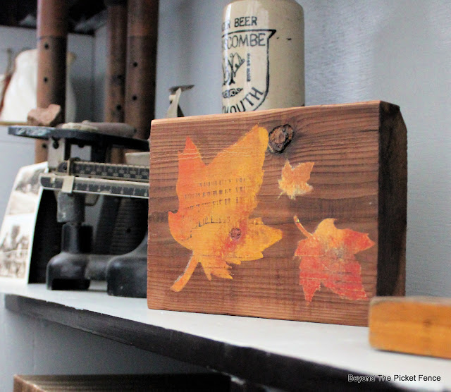 Shelf Decor For Fall