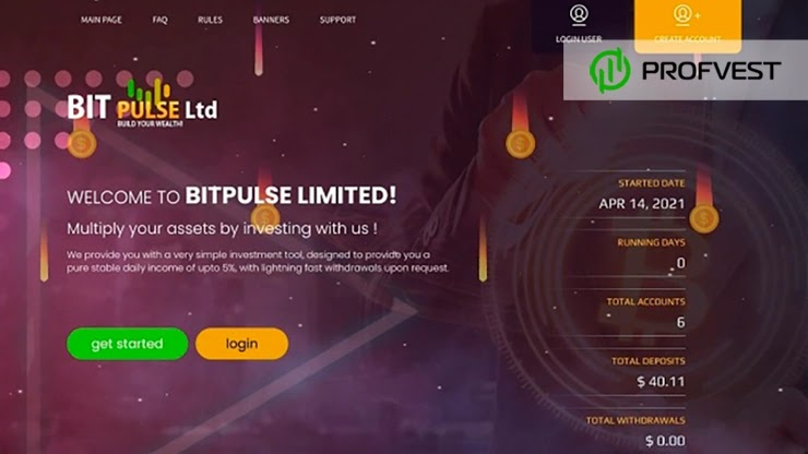 Bit Pulse Ltd обзор и отзывы HYIP-проекта