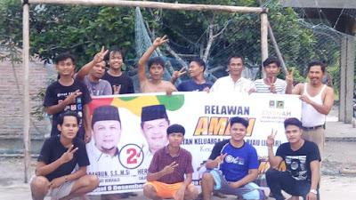 Remaja Remaji Masjid An Nur Pasar Sidomulyo Siap Menangkan AMAN 2021 - 2026