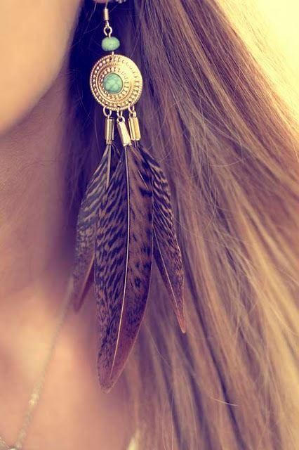 Top 5 Boho Feather Ear Cuff Black Rooster and Grizzly Handmade