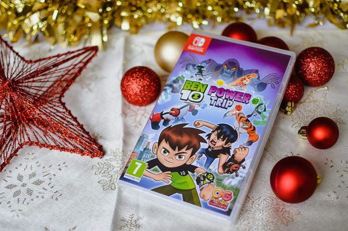 gamer kids gift guide, Nintendo Switch games, Ben 10
