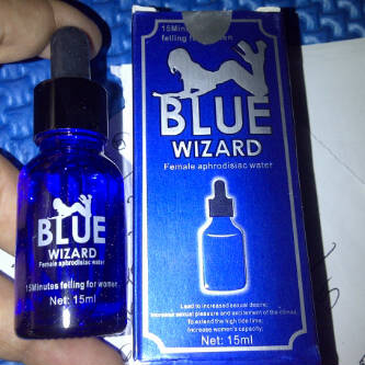 blue wizard asli