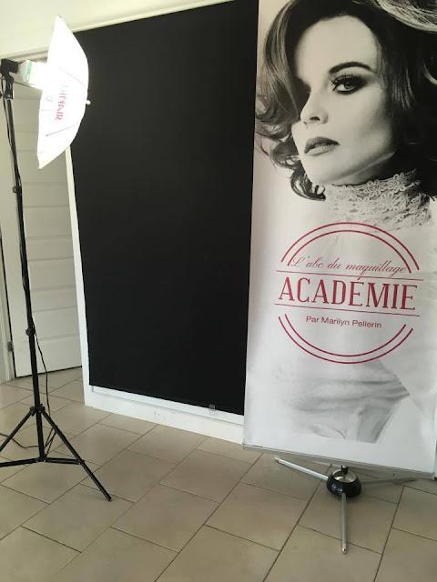 Marilyn Pellerin académie ABC du maquillage