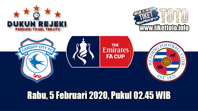 Prediksi FA Cup Cardiff City VS Reading 5 Februari 2020