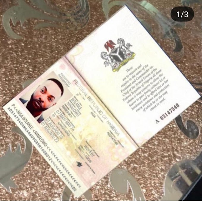 Scammers create fake passport and bank ATM with actor Bolanle Ninalowo name and picture