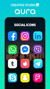 Aura – Icon Pack v3.1 [Patched] APK