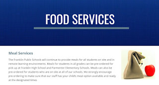 Franklin Public Schools: Food Services - Updates on Reopening