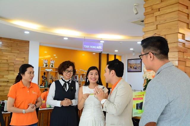 Du khách Tô Tích Nguyên trúng 01 lượng vàng 9999 từ TST Tourist