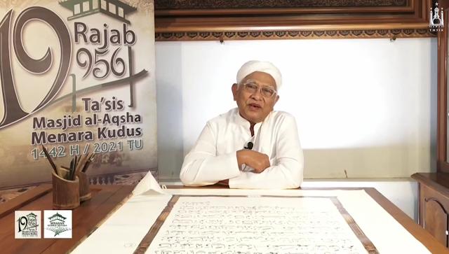Gus Mus, Ta'sis Masjid Menara Kudus ; Bangsa Kita Agung Karena Budaya
