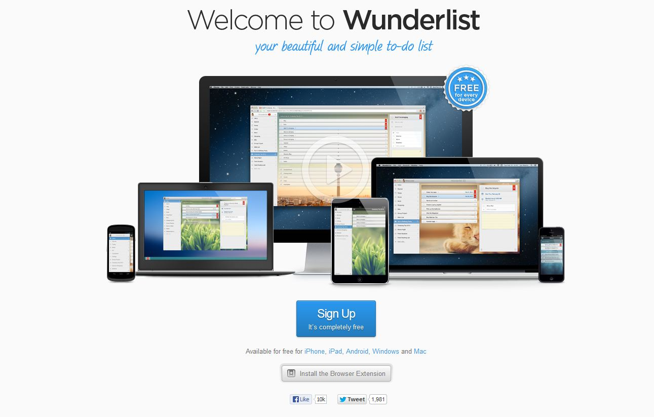Style from the Suburban Intellect: My new obsession: Wunderlist