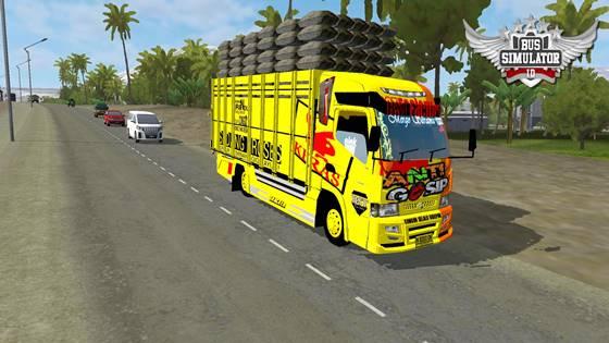 mod truk anti gosip terpal