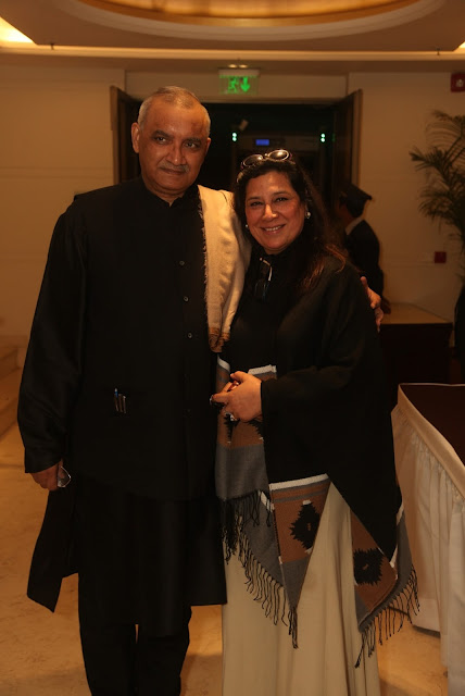 Dr. Madhup Mohta with Geeta Kapoor.-