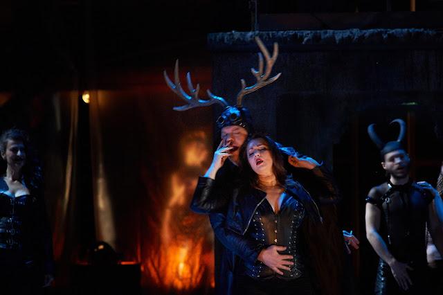 Verdi: Falstaff - Katharina Kammerloher, Michael Volle, Barbara Frittoli  - Staatsoper Berlin (Photo: Matthias Baus)