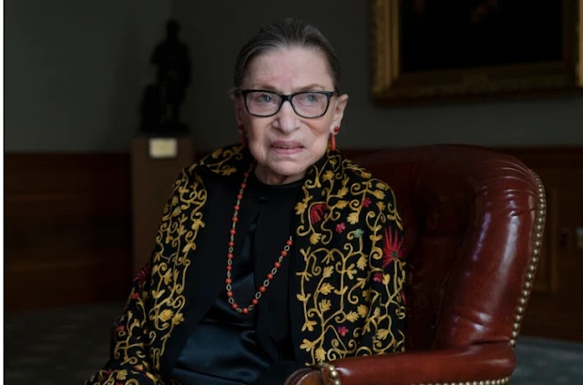Champion Of Gender Equality, Dies At 87 |  Justice Ruth Bader Ginsburg