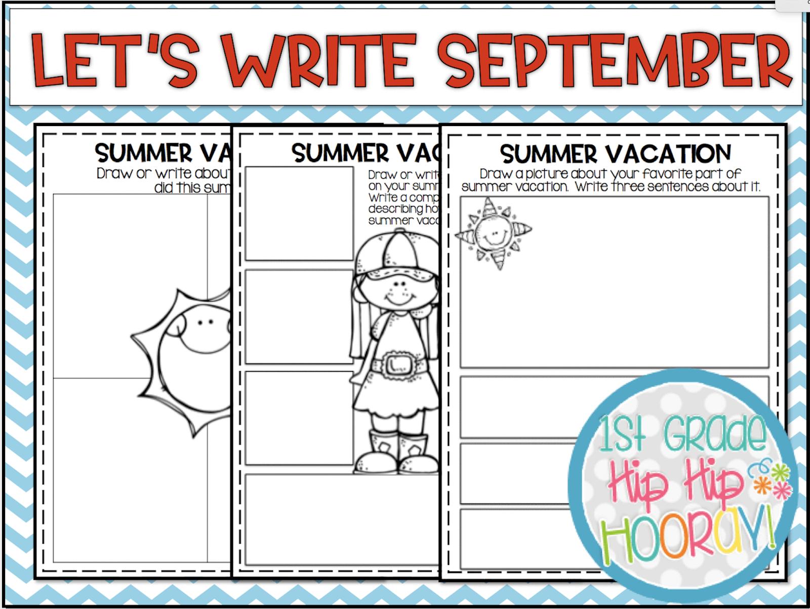 1st Grade Hip Hip Hooray July