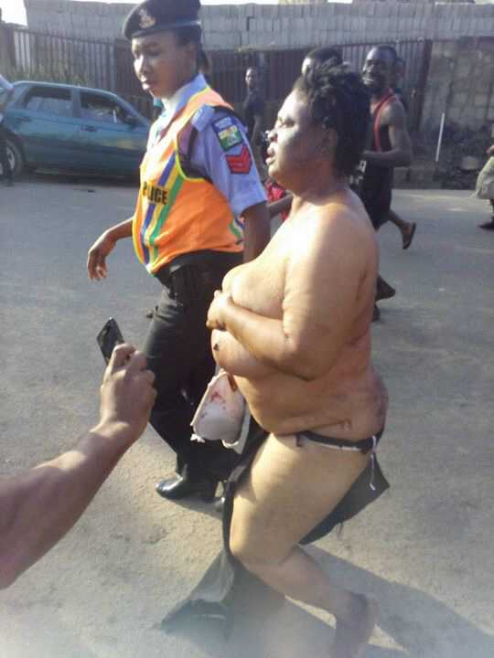 Woman Stripped Naked Video