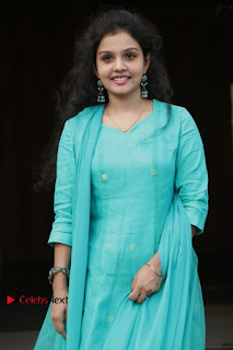 Tamil Actress Preethi Stills in Green Salwar Kameez at Kuzhalosai 2nd Anniversary Fund Raising Event  0011.jpg