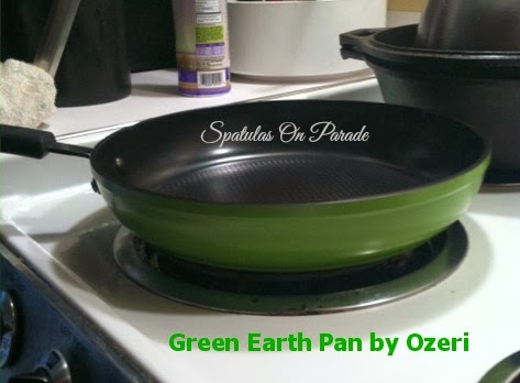 3b8676f84e06 Spatulas On Parade: Green Earth Pan by Ozeri