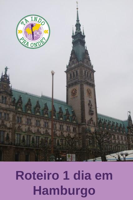 roteiro um dia Hamburgo (Alemanha)