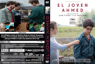 EL JOVEN AHMED 2019[COVER DVD+BLU-RAY]