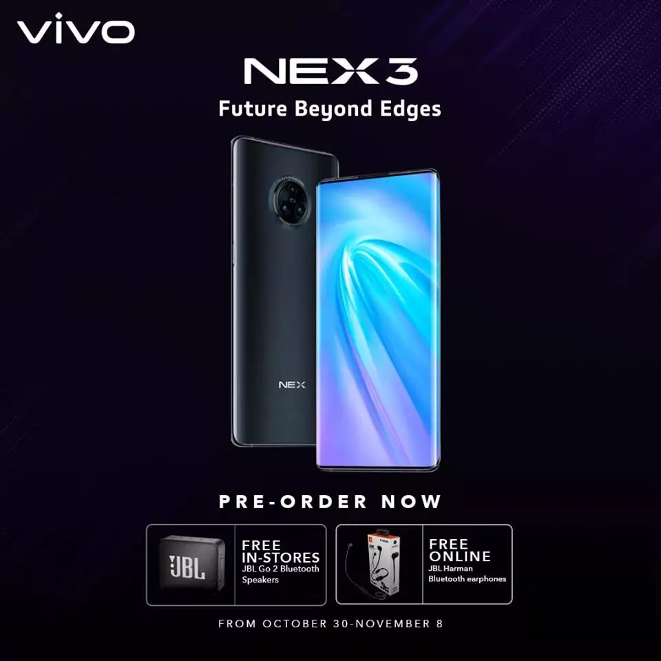 Vivo NEX 3 Philippine Pre-Order