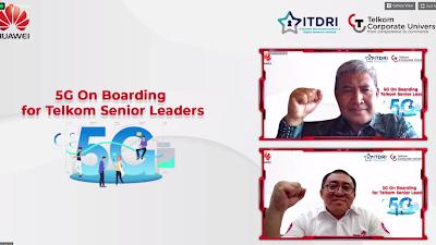 Kolaborasi ITDRI dan Huawei dalam 5G On Boarding for Telkom Senior Leader