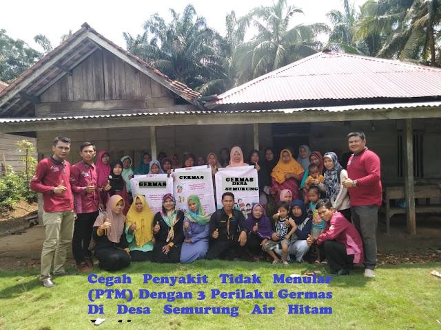 Cegah Penyakit Tidak Menular (PTM) Dengan 3 Perilaku Germas Di Desa Semurung Air Hitam Jambi