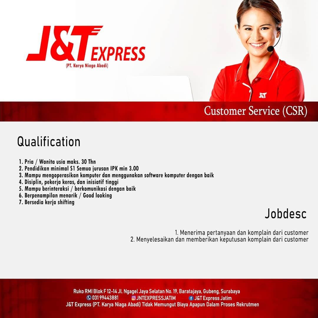 Lowongan Kerja Fresh Graduate J T Express Terbaru Ruangankerja