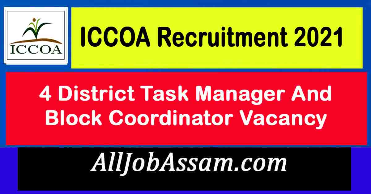 ICCOA Recruitment 2021