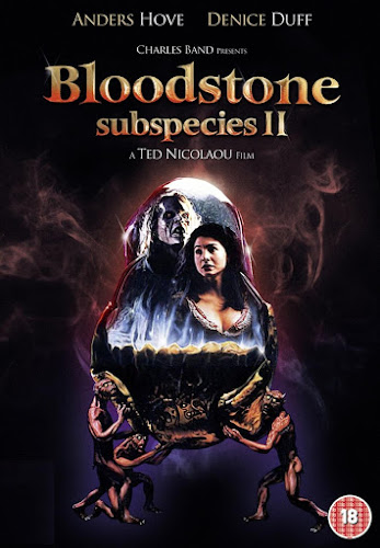Poster Of Bloodstone Subspecies II 1993 In Hindi Dual Audio Bluray 720P Free Download Movies365.in